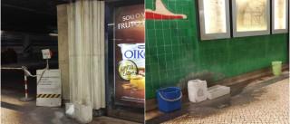 Utentes queixam-se de risco de segurança na estação dos Olivais