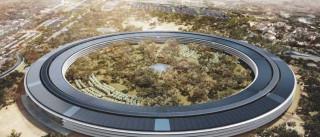 Veja a evolução dos trabalhos da nova sede da Apple