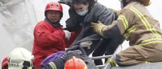 Sete mortos e mais de 10 pessoas presas devido a sismo