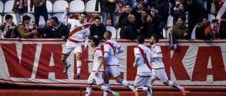 Bebé marca e Rayo Vallecano vence o Las Palmas