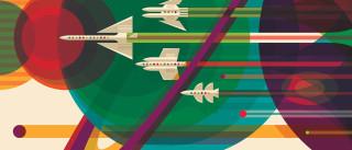 A NASA quer convencê-lo a tirar férias no espaço com estes posters