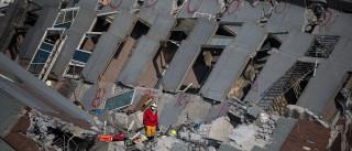 Segurança na construção em Taiwan posta em causa após sismo