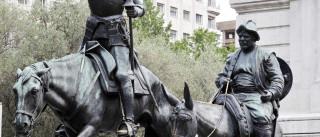 'D. Quixote' de Cervantes marca o nascimento do romance europeu