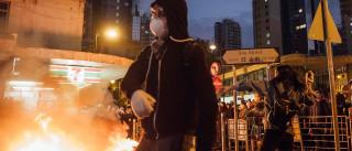 """Hong Kong nega """"considerações políticas"""" nas acusações de motim"""