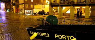 Queda de muro na zona do Porto provocou estragos em viaturas