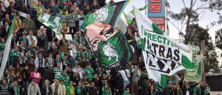 Plantel do Sporting recebido por 'multidão' em Lisboa