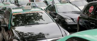 Taxistas contam com apoio de pequenas e médias empresas