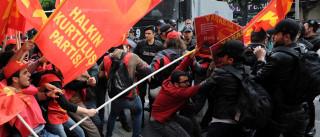 1.º de Maio: Confrontos entre polícia e manifestantes na Turquia