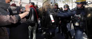 Dezoito detidos em Paris durante jornada marcada por violência