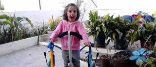 Beatriz, a menina com uma doença rara que precisa de ajuda