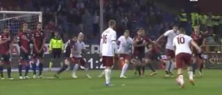 Totti mostra como se monta uma reviravolta... ao 'míssil'