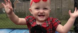 Morreu Poppy, a bebé que casou com o pai após diagnóstico de cancro