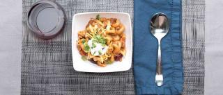 Comida de conforto: Massa com chili e queijo