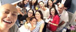Sofia Ribeiro diz adeus à quimioterapia