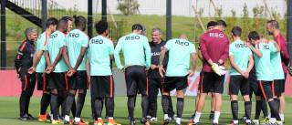 Portugal realiza dois treinos. Anthony Lopes é a novidade