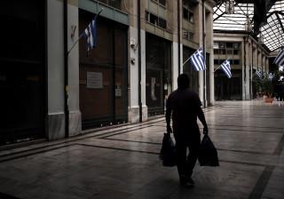 Economia da Grécia cai 0,9% no 3.º trimestre