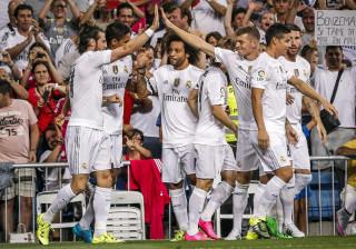 Ronaldo 'a seco' na 'chuva de golos' do Real Madrid