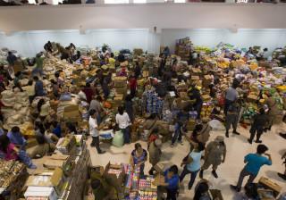 Sobe para 73 número de mortos no deslizamento de terras de ontem