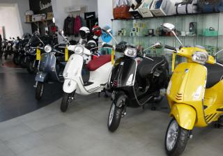 Vendas de motociclos aumentam 15,7% até agosto