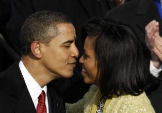 Michelle Obama recorda casamento e declara-se a Barack