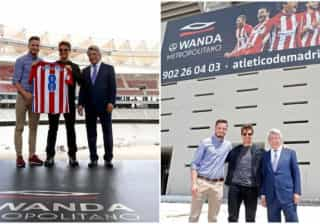 Tom Cruise visita novo estádio do Atlético de Madrid