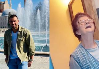 Vídeo: Marco Costa mostra a avó e explica porque andava