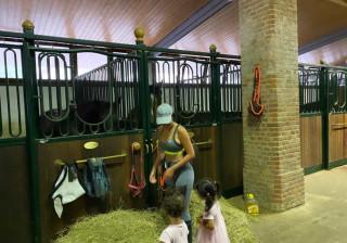 Georgina Rodríguez desfruta de bons momentos com as crianças