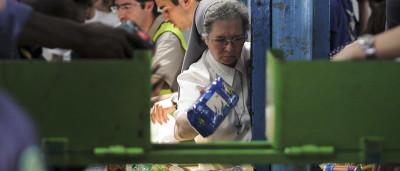 Banco Alimentar com 42 mil voluntários em dois mil supermercados