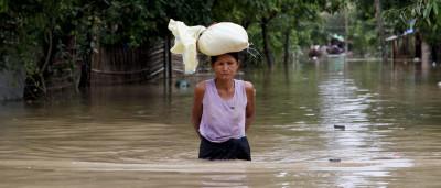 Sobe para 69 número de mortos devido a inundações na Birmânia