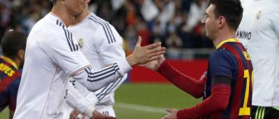 Cristiano Ronaldo e Messi ajudam a limpar ruas de Londres