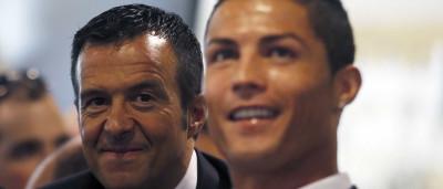 Afinal Ronaldo vai ser padrinho mas não é de Jorge Mendes