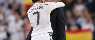 Carlo Ancelotti explica a quem é que se deve o sucesso de Ronaldo
