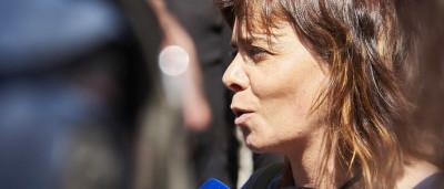 """Catarina Martins quer Governo a """"pôr na ordem"""" patrões dos estivadores"""