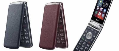 LG volta ao passado com smartphone 'concha'