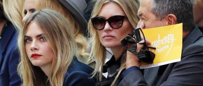 Cara Delevingne na 'lista negra' de Kate Moss