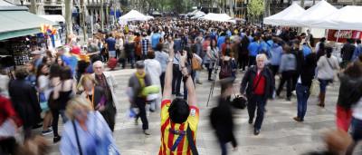 Vários feridos em tiroteio na Rambla de Barcelona