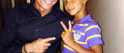 """Cristianinho """"vai ser o DJ"""" de hoje, diz Ronaldo"""