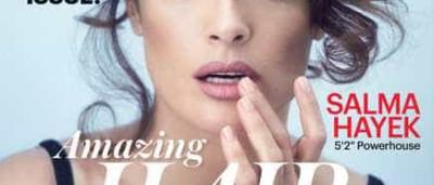 Salma Hayek protagoniza capa da 'Allure' com foto escaldante