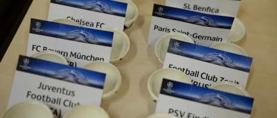 Já são conhecidos os adversários de Benfica e FC Porto