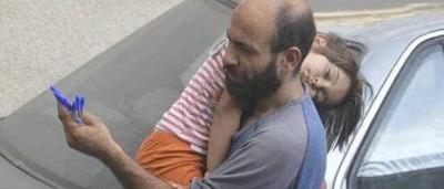 Esta família foi ajudada graças a uma foto que se tornou viral