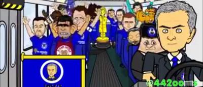 Adeptos ingleses ridicularizam José Mourinho depois da sexta derrota