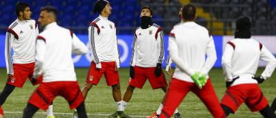 Astana quis 'congelar' o Benfica mas a UEFA não deixou