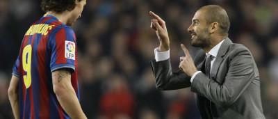 """Ibrahimovic ataca Guardiola: """"Não é homem"""""""