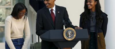 Ação de Graças: Os looks das filhas de Barack Obama