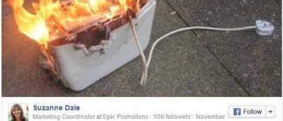 Experimentou dica que viu no Facebook… e quase incendiava a casa