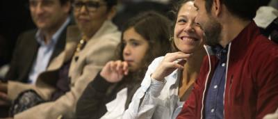 Paula Lobo Antunes só fala inglês com a filha