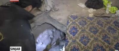 Aquilo que se pode encontrar nos túneis abandonados do ISIS
