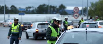 GNR fez 70 detenções, metade por condução sob efeito de álcool