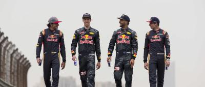 Red Bull e Toro Rosso trocam de pilotos a partir do GP de Espanha