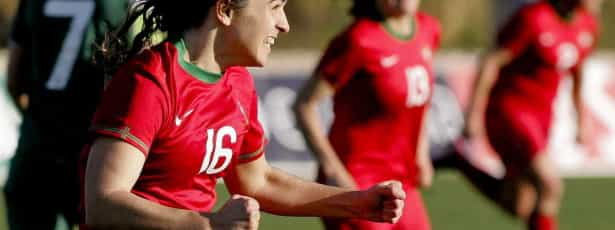 Selecção feminina estreia-se com goleada na Grécia